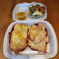 Desembrood Gerookte kip ananas, bacon & kaas