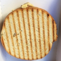 Witte tosti kaas