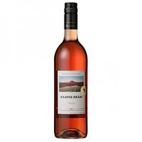 Fles rosé wijn