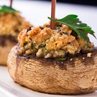 Gevulde champignon