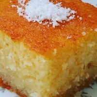 Revani (sinasappel cake)