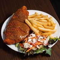 Schnitzel plate
