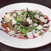Carpaccio salade van mals rundvlees