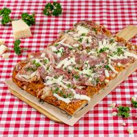 SUGO Pizza | Pancetta & Parmezaan