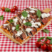 SUGO pizza | Prosciutto & burrata