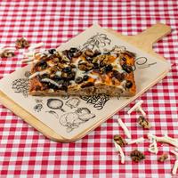SUGO Slice | Gekarameliseerde ui & walnoot