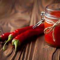 Sriracha voor bij de Karma Kebab?