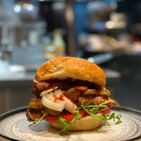 Ribfinger burger