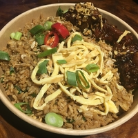 Surinaamse nasi goreng | babi ketjap