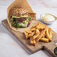 Vegan Portobello burger