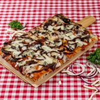 SUGO pizza | Gorgonzola & gekarameliseerde ui