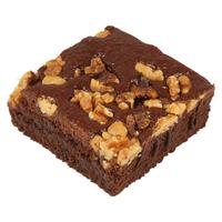 Brownie met walnoot