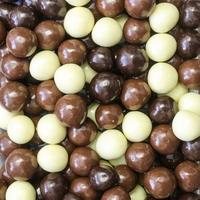 Chocolade hazelnootbollen 200gr