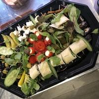 Vegetarische cateringschaal 50 stuks