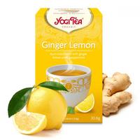 Yogi Tea, Ginger Lemon.